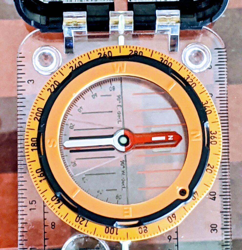 Compass Bezel Ring