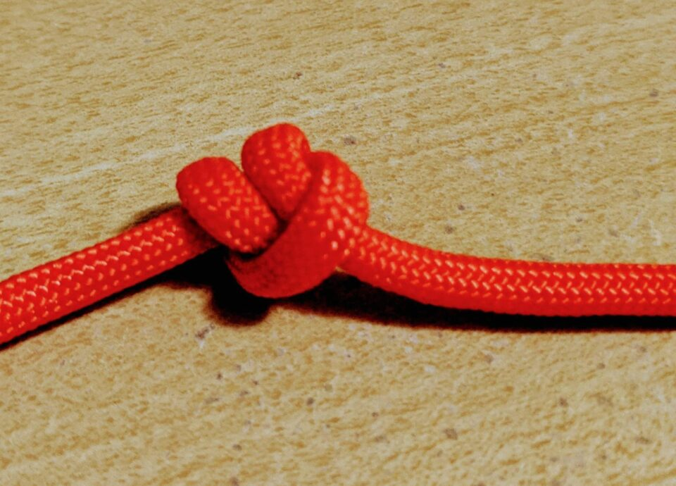 double over hand knot
