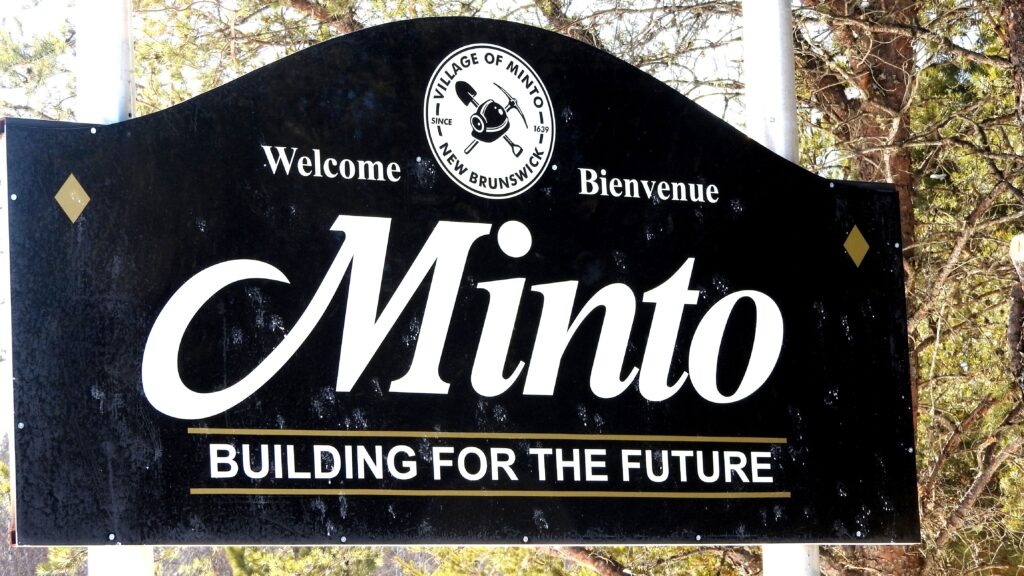 Minto Sign Board