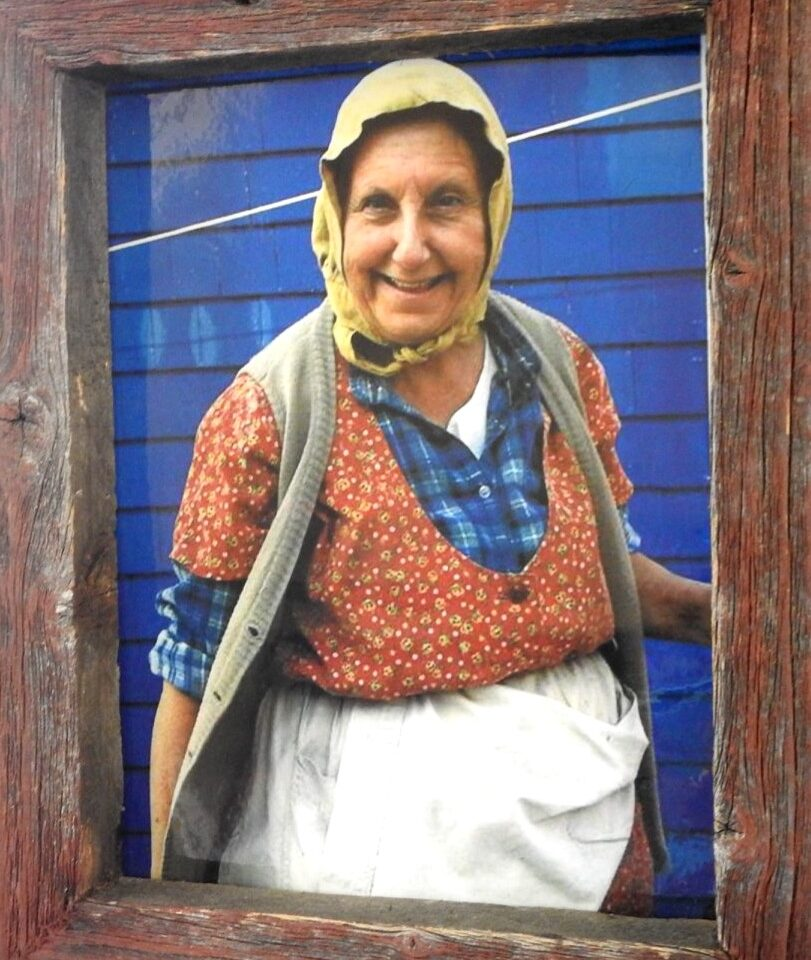 Picture of a old women