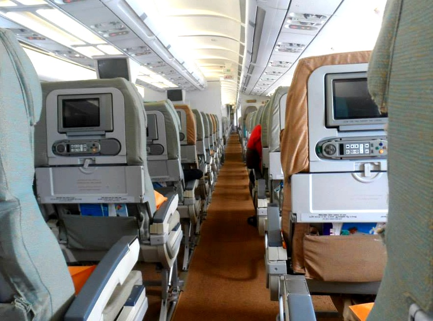 inside flight