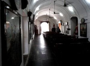 in side church